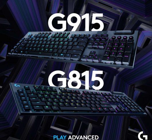 LOGİTECH G915 LIGHTSPEED VE G815 LIGHTSYNC RGB MEKANİK OYUN KLAVYELERİ OYUN DENEYİMİNE YENİ BİR BOYUT GETİRİYOR